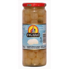 Figaro Silverskin Onions In Vinegar 12x100g - Bulkbox Wholesale