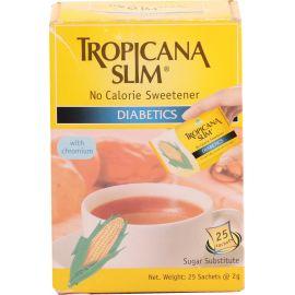 Tropicana Slim Sweetener Diabetics 25s 1x12 - Bulkbox Wholesale
