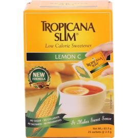 Tropicana Slim Sweetener Lemon C 25s 1x12 - Bulkbox Wholesale