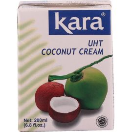Kara Coconut Uht Cream 24% 25x200ml - Bulkbox Wholesale