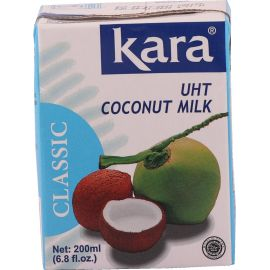 Kara Coconut Uht Milk 17% 25x200ml - Bulkbox Wholesale