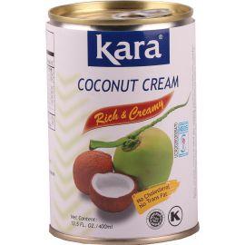 Kara Coconut Canned Cream 25% 24x400ml - Bulkbox Wholesale