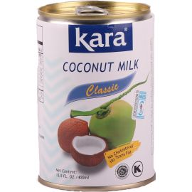 Kara Coconut Canned Milk 17% 24x400ml - Bulkbox Wholesale