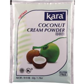 Kara Coconut Instant Cream Powder 12x50g - Bulkbox Wholesale