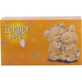 Tender Soft Facial Tissue Box Bear 12x4x70's - Bulkbox Wholesale
