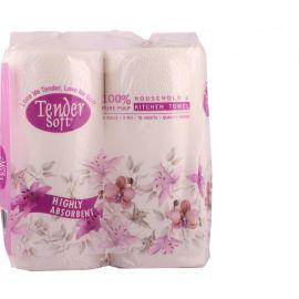Tender Soft Kitchen Towel 24x70's - Bulkbox Wholesale