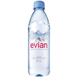 Evian Water 24x500ml - Bulkbox Wholesale