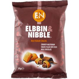 Elbbin & Nibble Chocolate Multigrain Snacks - Bulkbox Wholesale