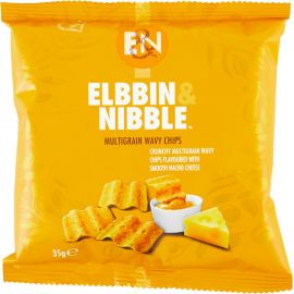 Elbbin & Nibble Multigrain Nacho Cheese Chips - Bulkbox Wholesale