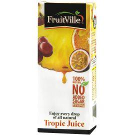 Fruitville Tropic Juice Tetra - Bulkbox Wholesale