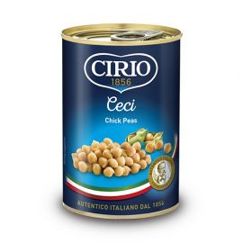 Cirio Chick Peas in Brine 12x410g - Bulkbox Wholesale