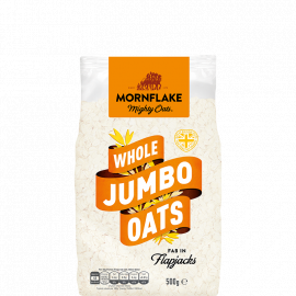 Mornflake Jumbo Oats Bag 12x500g - Bulkbox Wholesale