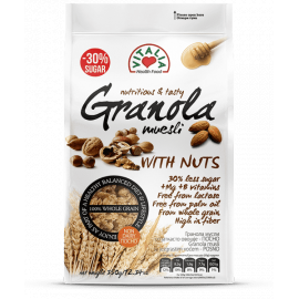 Vitalia Granola Muesli with Nuts 6x350g - Bulkbox Wholesale