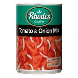 Rhodes Tomato & Onion Mix 12x410g - Bulkbox Wholesale