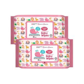 Tender Soft Fragrance-Free Baby Wipes 80's 24pcs - Bulkbox Wholesale