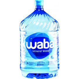 Waba Mineral Water  - Refill 1x20L - Bulkbox Wholesale