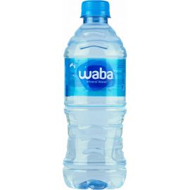 Waba Mineral Water 24x500ml - Bulkbox Wholesale