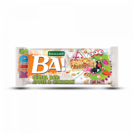 Bakalland Energy Bar Apple & Cinnamon 30x25g - Bulkbox Wholesale