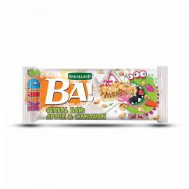 Bakalland - Ba!Kids! Bar Apple & Cinnamon   120x25g - Bulkbox Wholesale