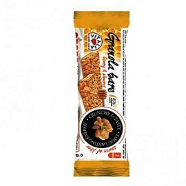 Vitalia Granola Bar with Honey & Almond 24x35g - Bulkbox Wholesale