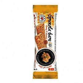 Vitalia Granola Bar With Honey & Almond  24x35g - Bulkbox Wholesale