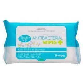 Tender Soft Antibacterial Wipes 12x12 of 10s - Bulkbox Wholesale
