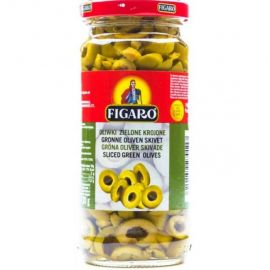 Figaro Green Sliced Olives 12x240g - Bulkbox Wholesale
