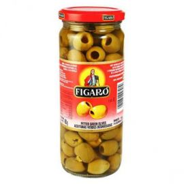 Figaro Green Sliced Olives 12x340g - Bulkbox Wholesale