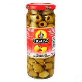 Figaro Green Sliced Olives 12x340g - Bulkbox Wholesale