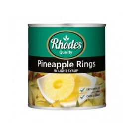 Rhodes Pineapple Rings in Syrup 12x440g - Bulkbox Wholesale