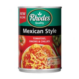Tomato Mexican Style 12x410g - Bulkbox Wholesale