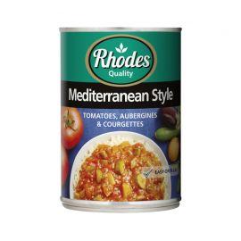 Tomato Mediterranean Style 12x410g - Bulkbox Wholesale