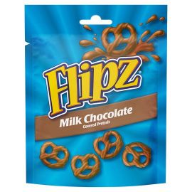Flipz Milk Chocolate Pretzels 6x100g - Bulkbox Wholesale