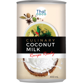 Thai Coco Coconut Milk Lite 12x400ml - Bulkbox Wholesale
