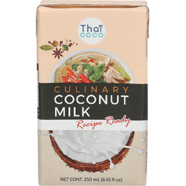 Thai Coco Coconut Milk UHT 12x250ml - Bulkbox Wholesale