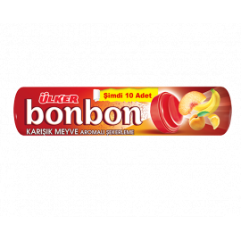 Ulker Bonbon Mix Fruit Candy 18x36g - Bulkbox Wholesale