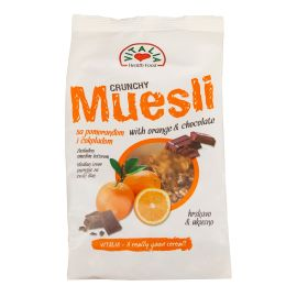 Vitalia Crunchy Muesli Choc & Orange 6x320g - Bulkbox Wholesale