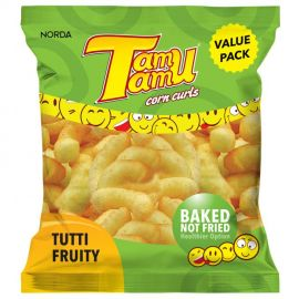Tamu Tamu Tutti Fruity Corn Snacks - Bulkbox Wholesale