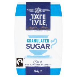 Tate & Lyle Granulated Sugar 10x500g - Bulkbox Wholesale