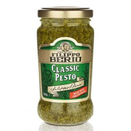 Filippo Berio Classic Green Pesto Sauce 6x190g - Bulkbox Wholesale