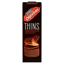 Mcvities Digestive Thins Dark Chocolate 16x93g - Bulkbox Wholesale