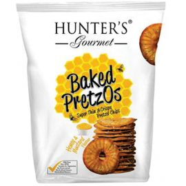 Hunters Baked Pretzos - Honey Mustard 6x160g - Bulkbox Wholesale