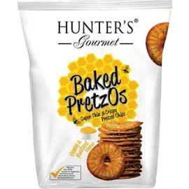 Hunters Baked Pretzos - Honey Mustard 6x70g - Bulkbox Wholesale