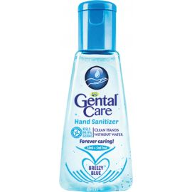 Gental Care Hand Sanitizer Breezy Blue  48x50ml + 5ml - Bulkbox Wholesale