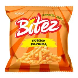 Bitez Yummy Paprika Mini Pack Corn Snacks - Bulkbox Wholesale