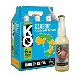 Kenyan Originals Tonic, Classic 6 x 330ml - Bulkbox Wholesale