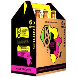 Kenyan Originals Variety Pack 6 x 330ml (Get 1 Free!) - Bulkbox Wholesale