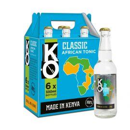 Kenyan Originals Classic African Tonic Water 6 x 330ml - Bulkbox Wholesale
