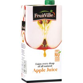 Fruitville Apple Juice Tetra - Bulkbox Wholesale