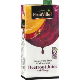 Fruitville Beetroot Mango Juice Tetra - Bulkbox Wholesale